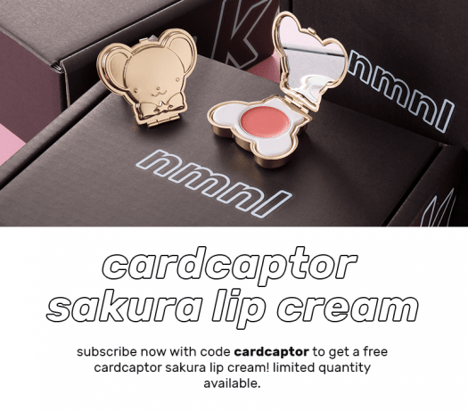 nmnl Coupon Code - Free Cardcaptor Sakura Lip Cream with New Subscriptions