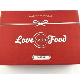 Love With Food Review + Coupon Code - September 2017 Tasting Box