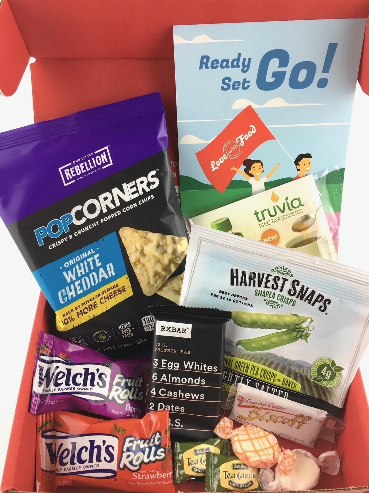 Love With Food Review + Coupon Code – September 2017 Tasting Box