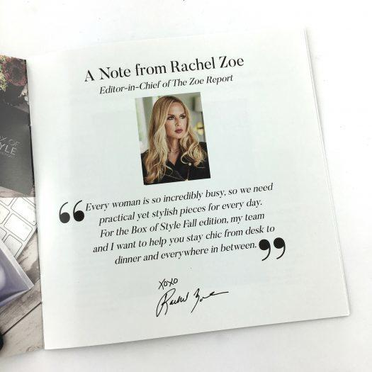 Box of Style Review Fall 2017 + Coupon Code