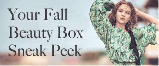 Allure Beauty Box September 2017, October 2017, November 2017 & December 2017 Spoilers
