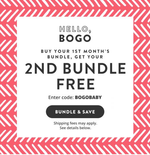 Honest Company BOGO Bundle Sale!