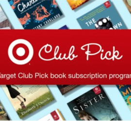 Target Book Club Subscription!