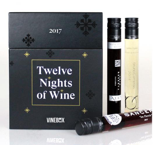 VINEBOX 12 Nights of Wine Advent Calendar – Launching Soon
