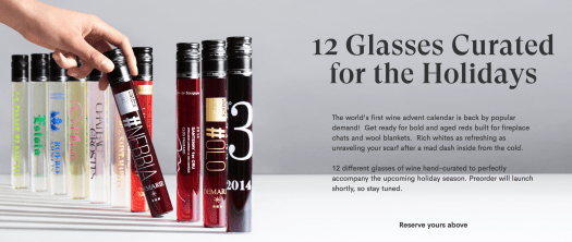 VINEBOX 12 Nights of Wine Advent Calendar - On Sale Now!