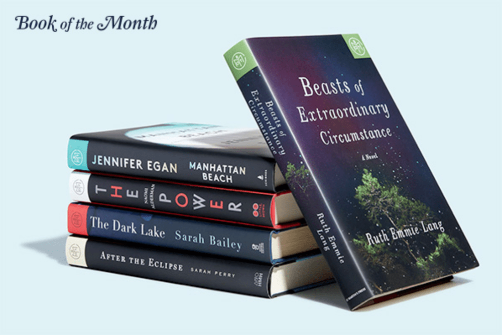 Book of the Month October 2017 Reveal + Selection Time + Coupon Code