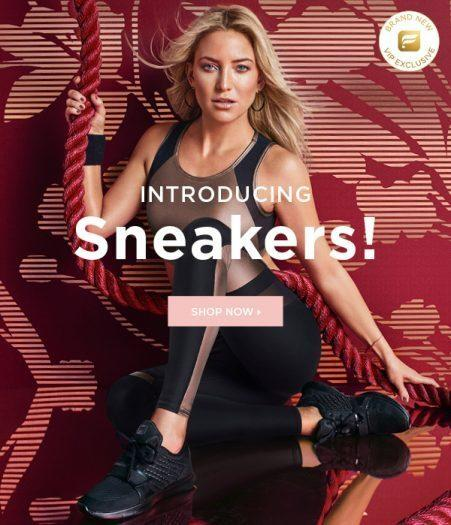 Fabletics Shoes Collection – Just Launched Plus Save $20!