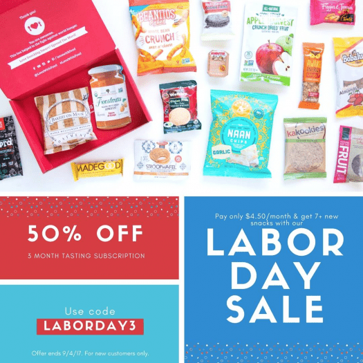 Love With Food Labor Day Sale – 3-Month for $13.50 (Still Working)!