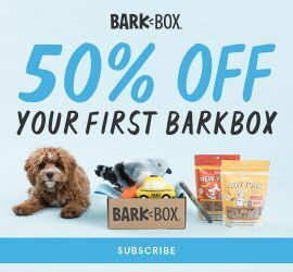 BarkBox Coupon Code: 50% Off First Box Offer!