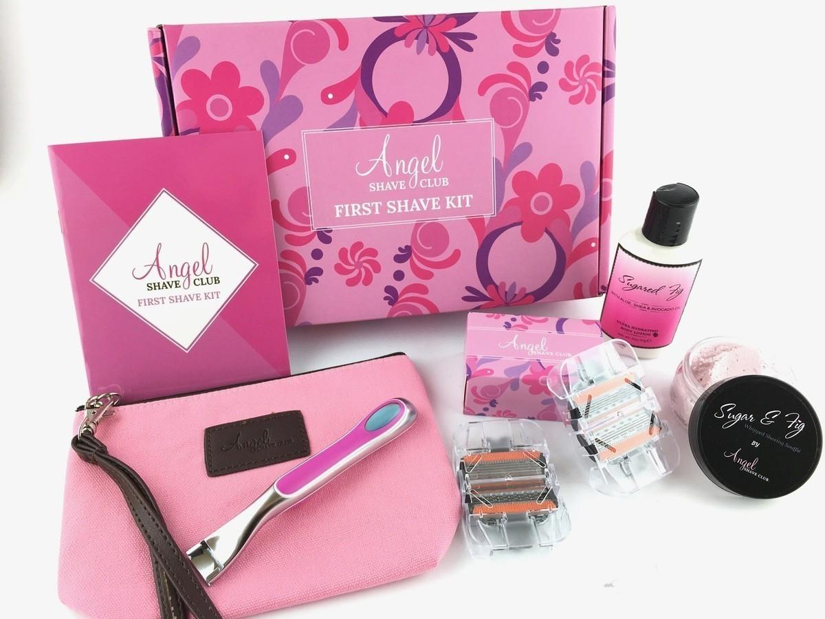 Angel Shave First Shave Kit Review – October 2017