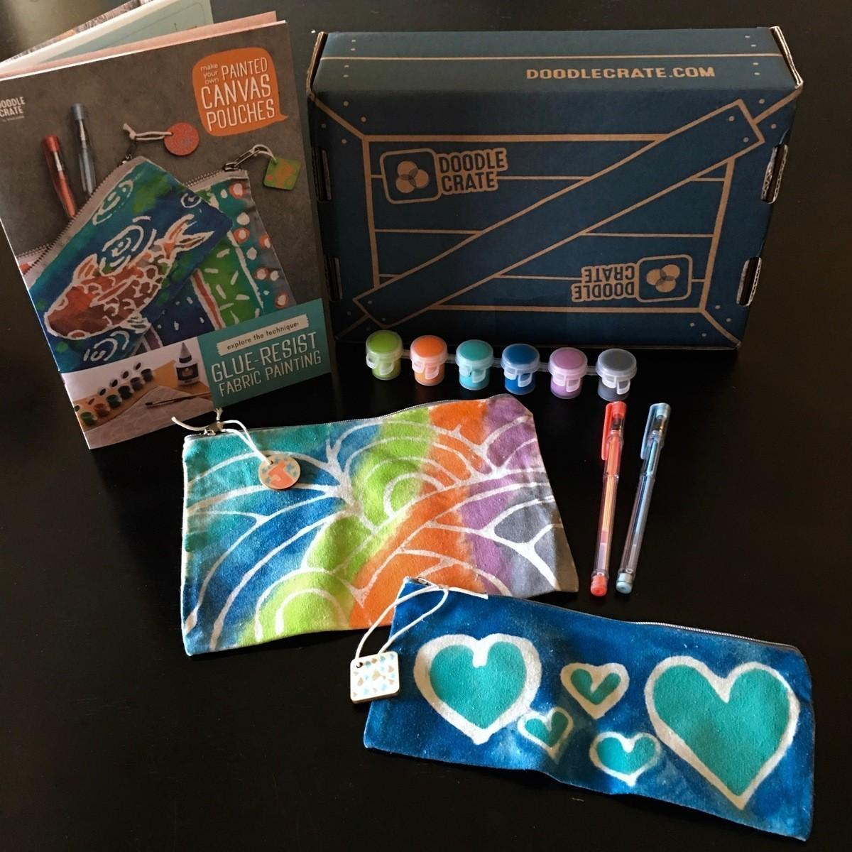 Doodle Crate Review + Coupon Code – August 2017