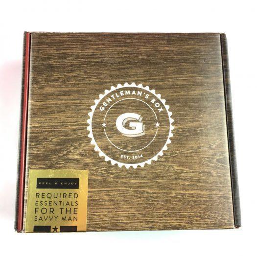 Gentleman's Box Review - October 2017