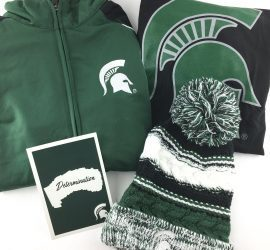 Spartan Box Michigan State Subscription Box Review - October 2017