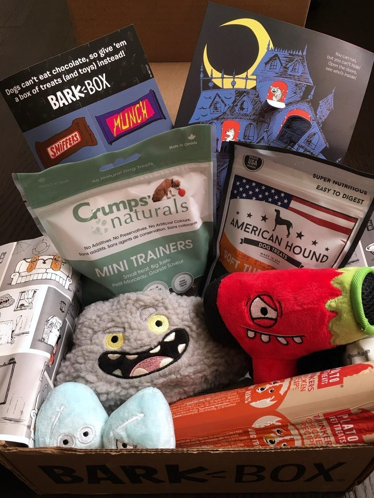 Barkbox Subscription Review Coupon Code October 2017