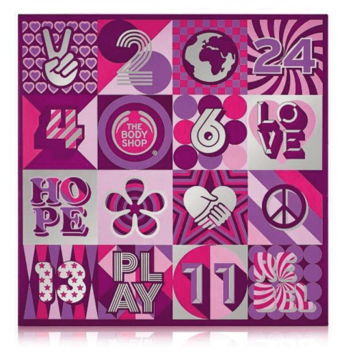 The Body Shop 24 Days Of Beauty Advent Calendar – On Sale Now