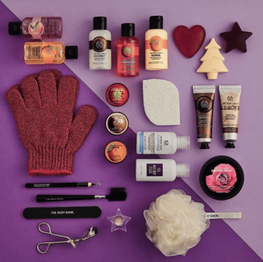The Body Shop 24 Days Of Beauty Advent Calendar - On Sale Now + Coupon