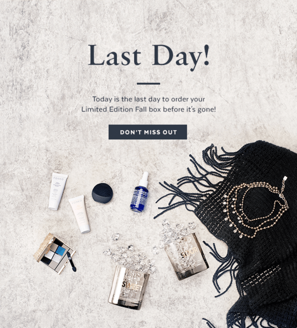 POPSUGAR Must Have Fall 2017 Limited Edition Box – LAST Day to Purchase + **Full Spoilers**