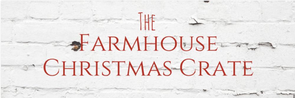 Gable Lane Crates – Farmhouse Christmas Crate