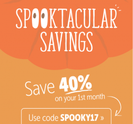 KiwiCo Halloween Sale - 40% Off First Month