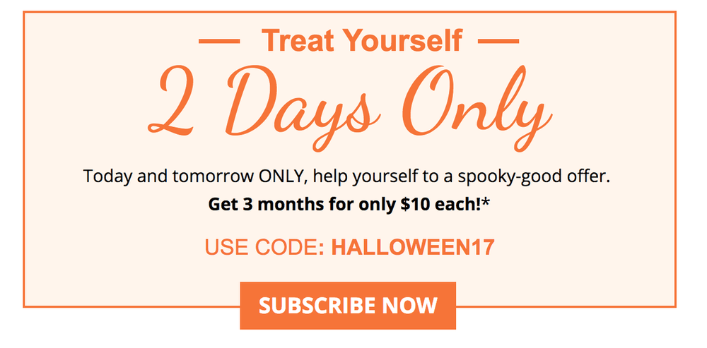 GLOSSYBOX 3-Months for $10/Month (Last Chance)+ November & December Spoilers