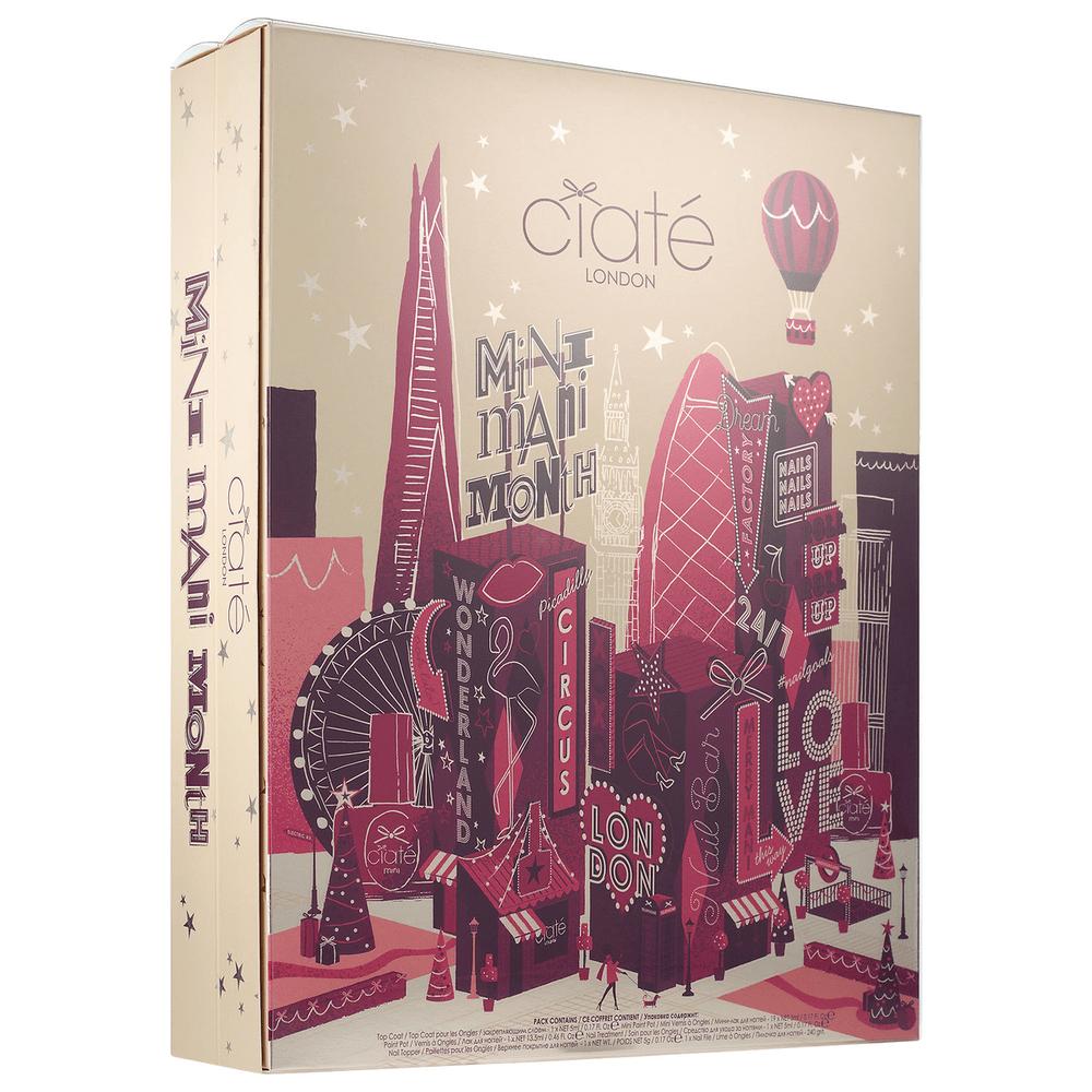 Ciate Mini Mani Month Nail Polish Set Advent Calendar- On Sale Now