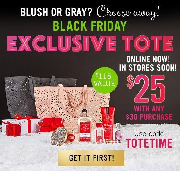 Bath & Body Works Black Friday 2017 Tote – On Sale Now!