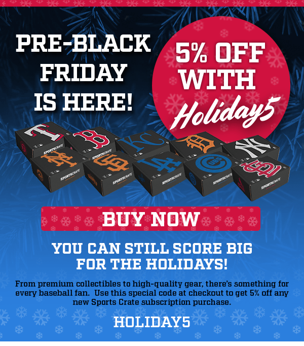 Sports Crate by Loot Crate Pre-Black Friday Sale!