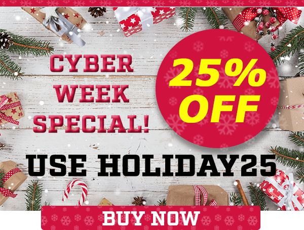 Sports Crate 25% Off Cyber Week Sale!