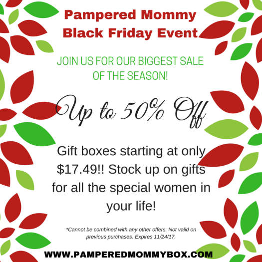 Pampered Mommy Box Black Friday Sale – Save Up to 50% off + Mystery Box!