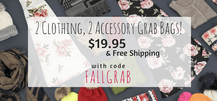 Cents of Style Grab Bags – On Sale Now