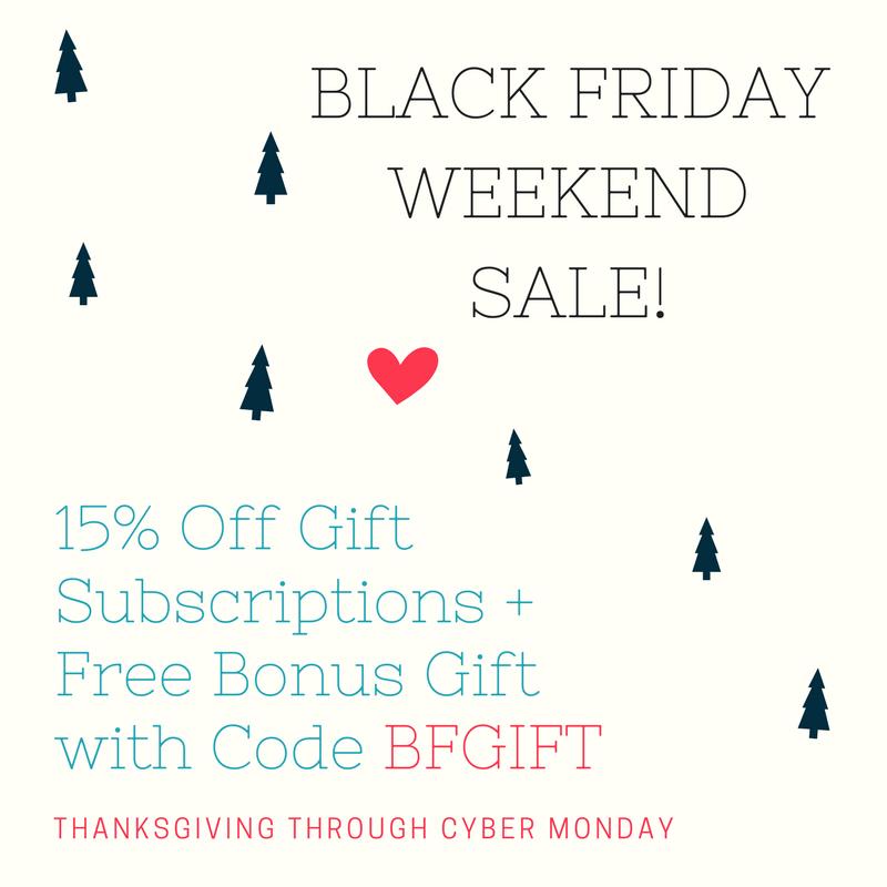 Ecocentric Mom Black Friday Sale – 15% Off Subscriptions + Bonus Gift!