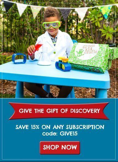 Green Kid Crafts 15% Off Subscription Plans – Last Day!