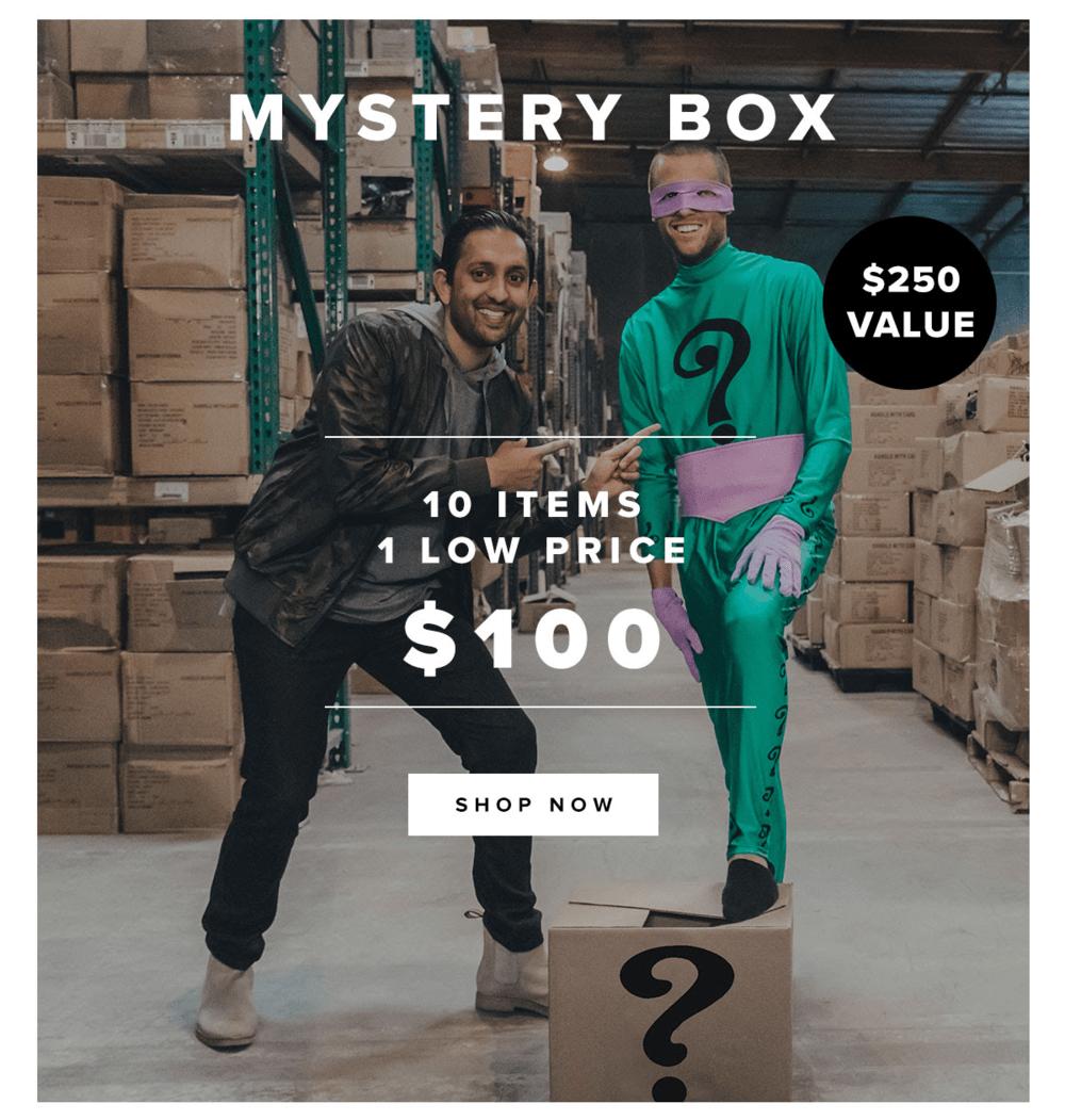 Five Four Club Black Friday Mystery Box!