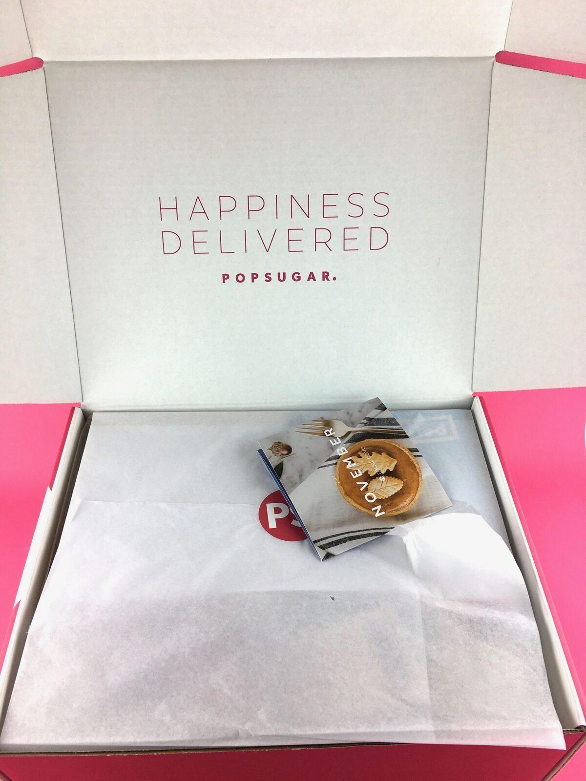 POPSUGAR Must Have Box Review + Coupon Code – December 2017