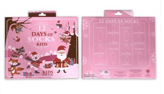 Target 12 Days of Socks Kid's Advent Calendar - On Sale Now