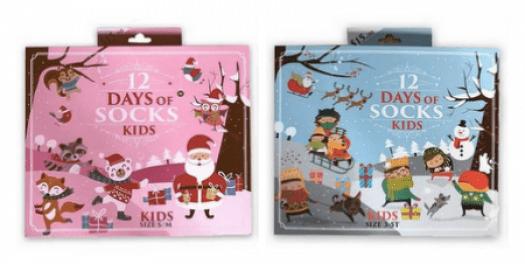 Target 12 Days of Socks Kid's Advent Calendars - On Sale Now