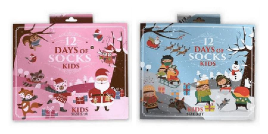 Target 12 Days of Socks Kids' Advent Calendars – On Sale Now