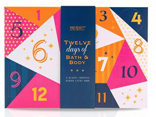 MAD Beauty 12 Days of Bath & Body Beauty Advent Calendar – On Sale Now