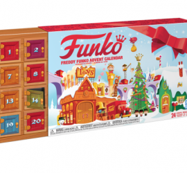 Funko has launched an advent calendar! The Freddy Funko Advent Calendar is $50 and includes24 exclusive Pint Size Heroes.