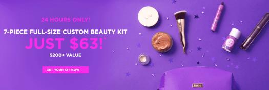 tarte Create Your Own 7-Piece Custom Kit for $63 (Extended)