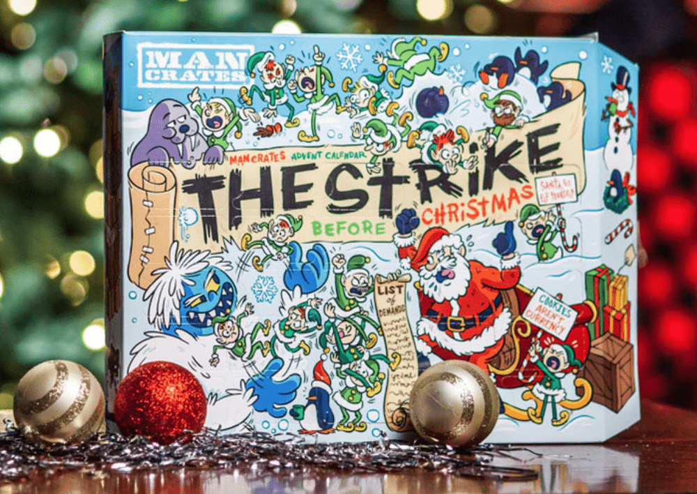 Man Crates Jerky Advent Calendar – On Sale Now