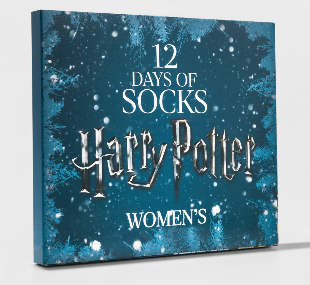12 days of harry potter sock advent calendar giveaway closed subscription box ramblings. Black Bedroom Furniture Sets. Home Design Ideas