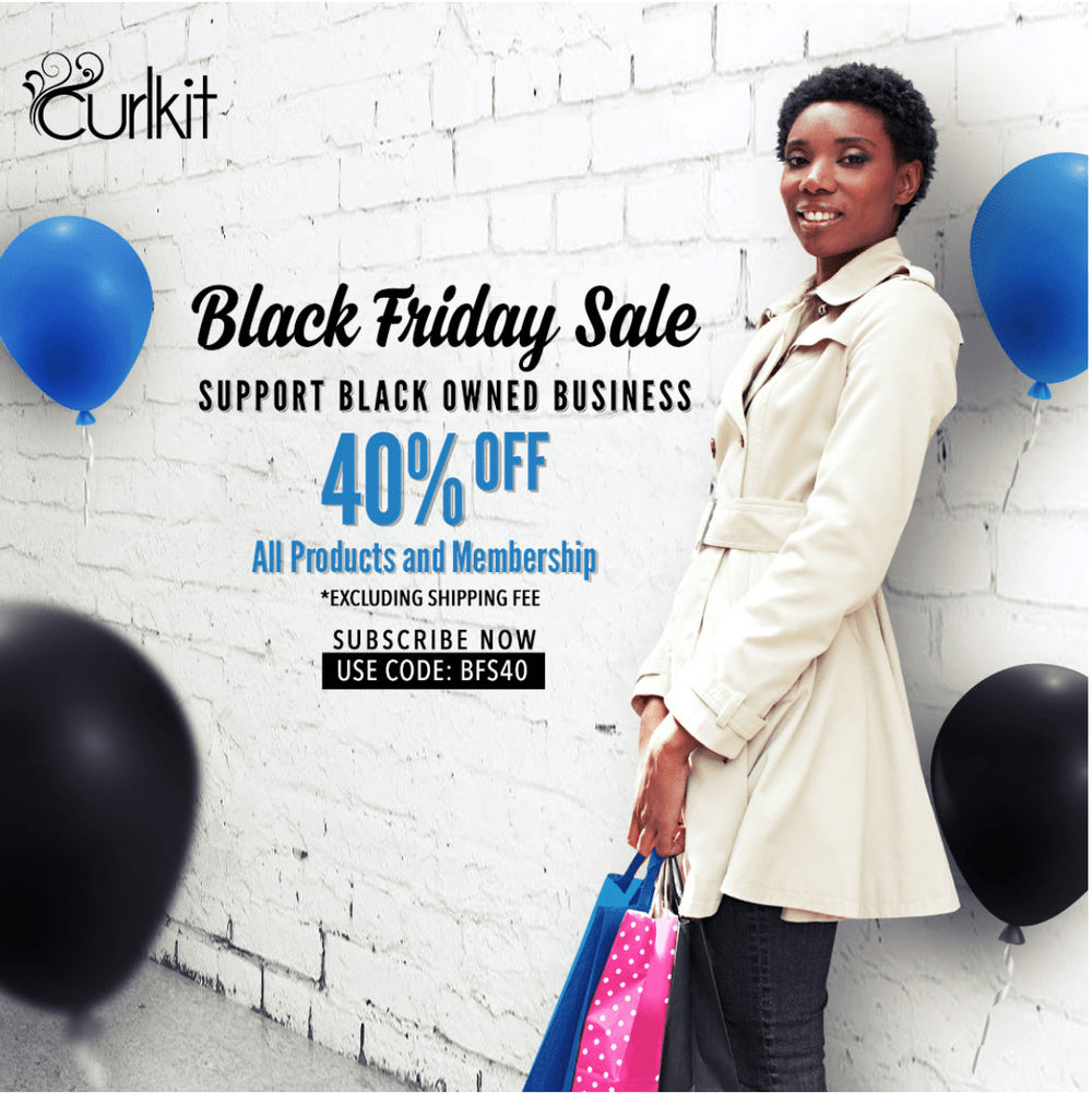 CurlKit Black Friday Coupon Code – Save 40%!!