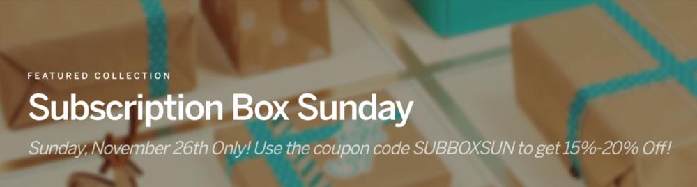 CrateJoy Subscription Box Sunday – HUGE Sales!