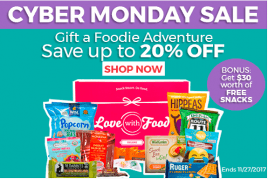 Love With Food Cyber Monday Sale!