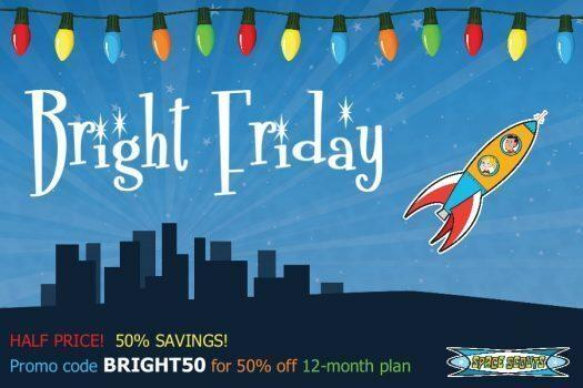Space Scouts Black Friday Sale – Save 50% off a 12-Month Subscription!