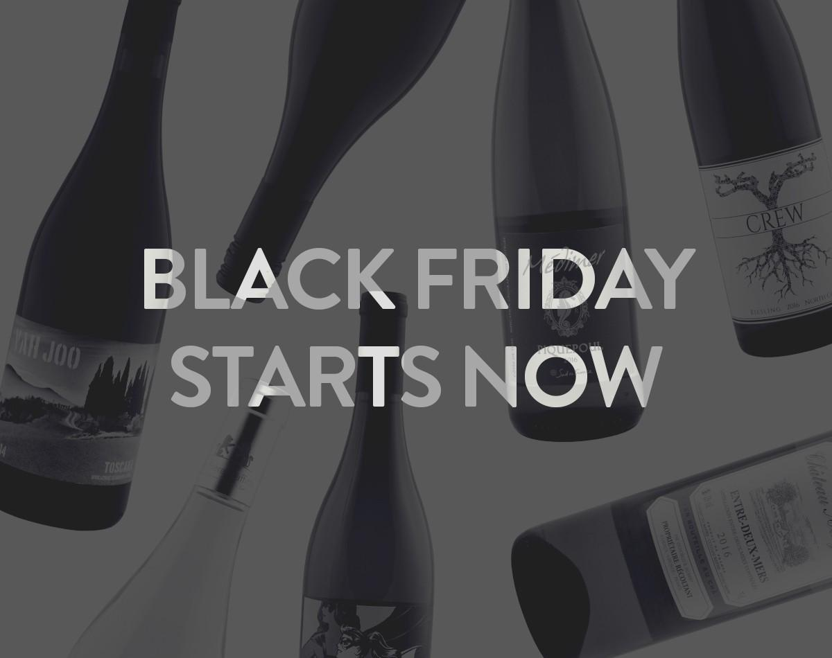 Wine Awesomeness Black Friday Sale – Get Up to $200 in WA Gift Cards with Gift Subscriptions!