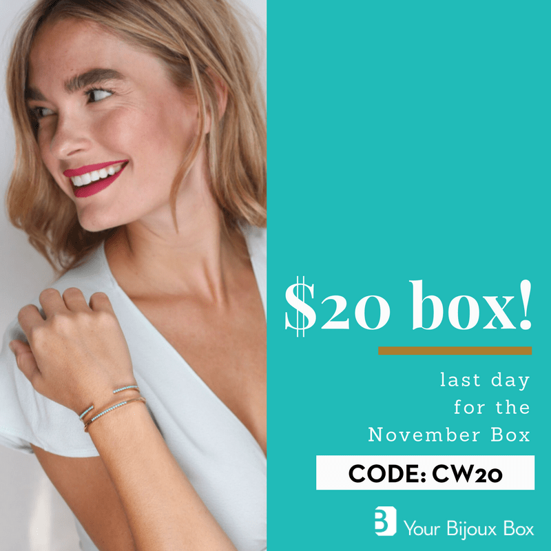 Your Bijoux Box Coupon Code – First Box for $20!