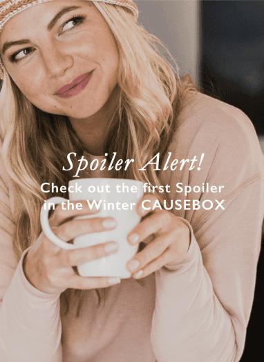 CAUSEBOX Winter 2017 Spoiler # 1 + Coupon Code