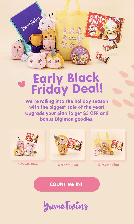YumeTwins Early Black Friday Sale!
